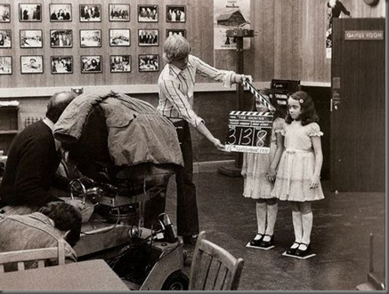"Behind the scenes of Kubrick's ""The Shining""."