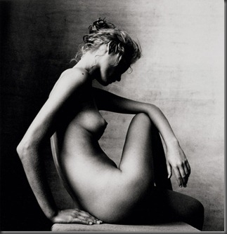 Amber Valletta by Irving Penn