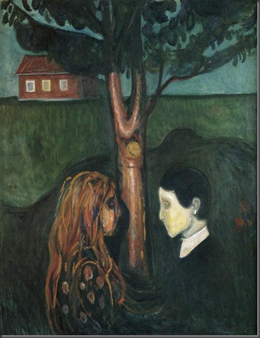 Edvard Munch. Eye in Eye.