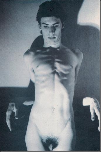 Frank Tovey aka Fad Gadget for Zig Zag, 1981