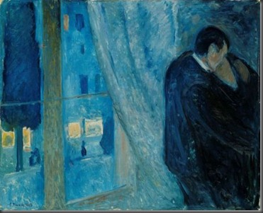 Kiss, Edvard Munch