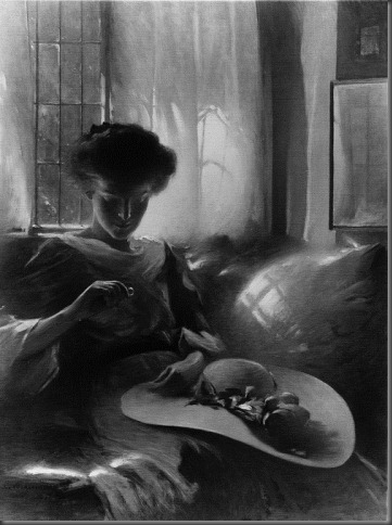 John White Alexander - The Ring - 1911- oil on canvas