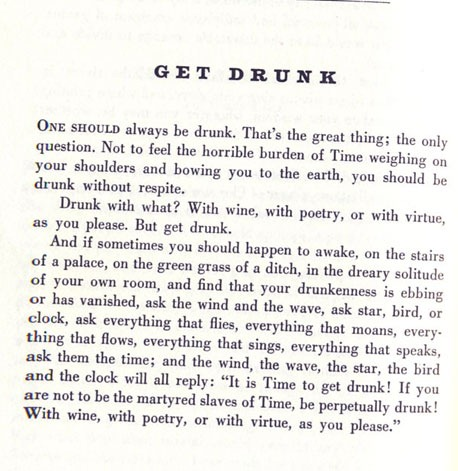 be drunk by charles baudelaire poem 19th century french poet, essayist, and translator charles baudelaire  charles  baudelaire charles baudelaire (1821–1867) was born in paris, france.