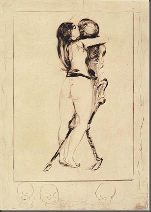 Der Tod und das Weib, Edvard Munch