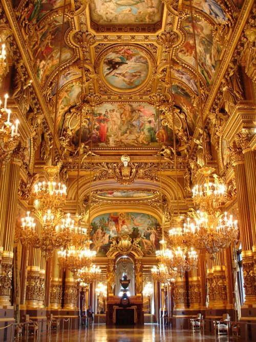L Opéra Garnier Grand Foyer De L Opera : L opera garnier paris based on truth and lies