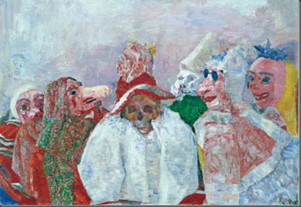 James Ensor, Masks Mocking Death