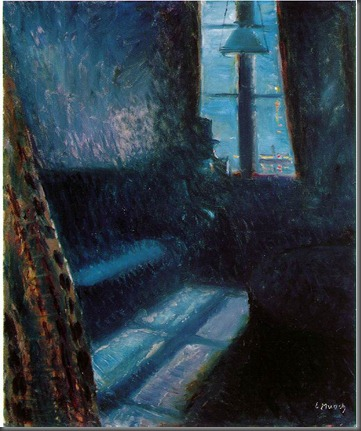 Edvard Munch night