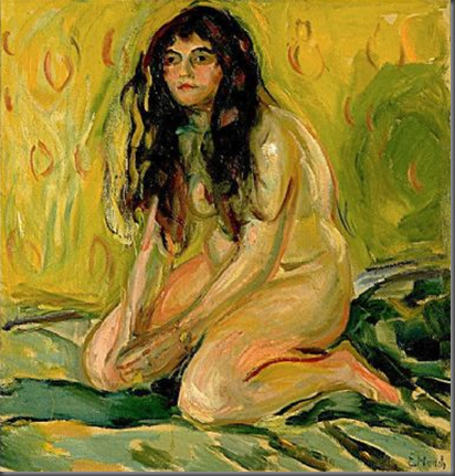 Kneeling Nude