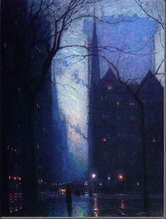 Lowell Birge Harrison, Fifth Avenue at Twilight
