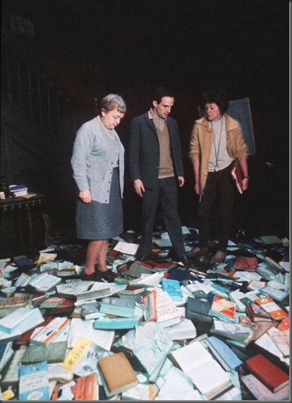 Title: FAHRENHEIT 451 ¥ Pers: TRUFFAUT, FRANCOIS ¥ Year: 1966 ¥ Dir: TRUFFAUT, FRANCOIS ¥ Ref: FAH002BX ¥ Credit: [ ANGLO ENTERPRISE/VINEYARD / THE KOBAL COLLECTION ]