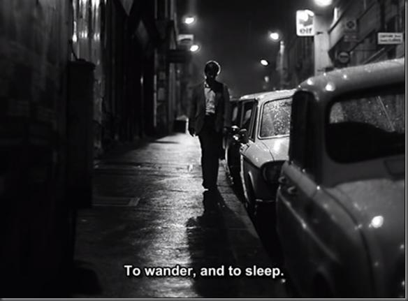 Un homme qui dort