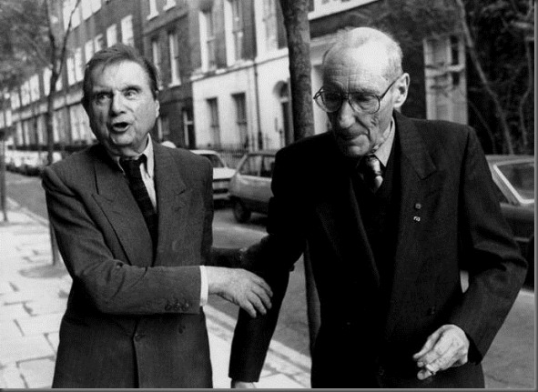 William S. Burroughs with Francis Bacon2