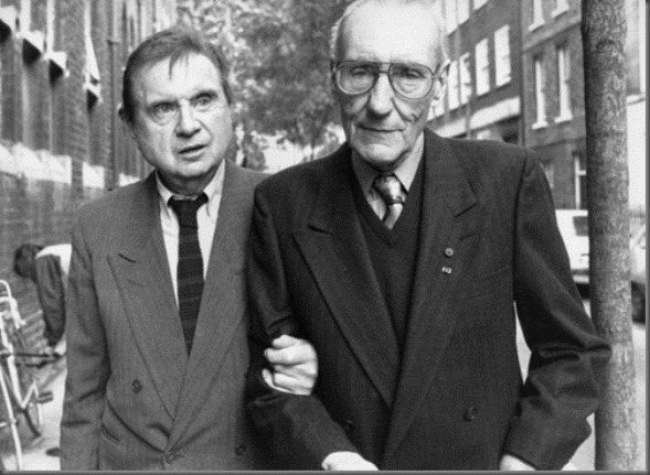 William S. Burroughs with Francis Bacon