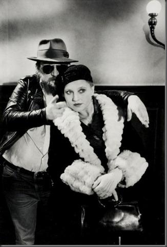 Werner Fassbinder & Hanna Schygulla